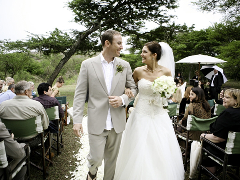 safari wedding's in Zululand