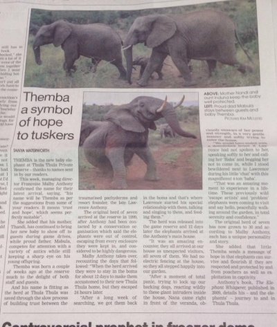 Themba a symbol of hope